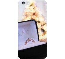 Engagement Ring iPhone Case/Skin