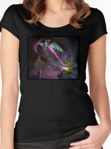 Noivern used Dragon Pulse! Women's Fitted Scoop T-Shirt