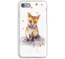 Cute Baby Fox  iPhone Case/Skin