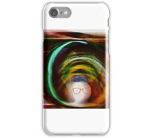 Heart touches brain iPhone Case/Skin