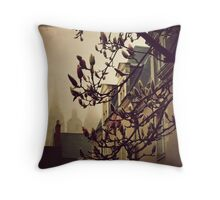 { morning fog } Throw Pillow