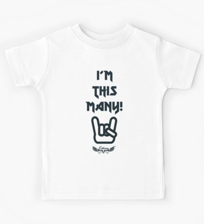 This Many II by lilterra.com Kids Tee