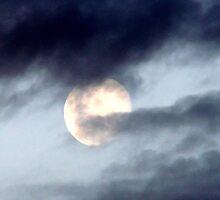 Scary moon by Paul Buckley