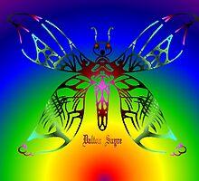 Tribal Butterfly  by Dalton Sayre