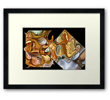 Lean on me, when your not strong...I'll be your friend.... Framed Print
