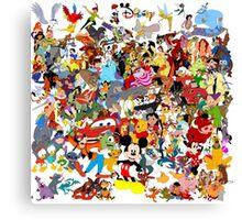Disney Canvas Print