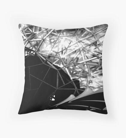 crazy beautiful Throw Pillow
