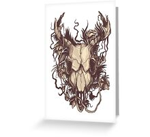 In the woods v.2 Greeting Card