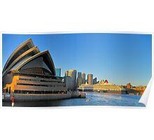 `Sunrise Symphony - Sydney Harbour,Sydney Australia Poster