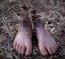 These Boots were made for Walking... by Angela Stewart