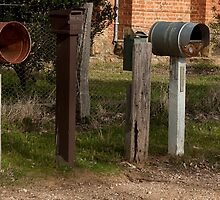 Letterboxes by DavidsArt