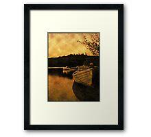 Loch Lomond Gloaming Framed Print