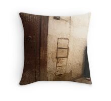 Backstreets of Fez Throw Pillow