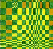 Greenish by Margaret Hockney