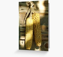 pending corn Greeting Card