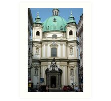 Peterskirche, Vienna Art Print