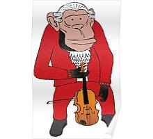 Chimp Maestro Poster
