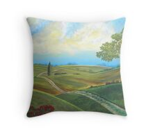 LIECESTER COUNTRYSIDE Throw Pillow