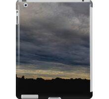 HDR Composite - Insane Blue Black Sunset iPad Case/Skin