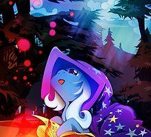 Magical Trixie - Everfree education by RarieDash