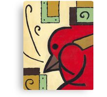 BIRD ABSTRACT Canvas Print