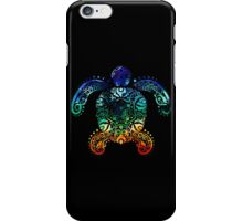 Inked Sea Turtle iPhone Case/Skin