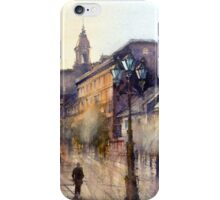 Square Jaques Cartier. Montreal. Quebec iPhone Case/Skin