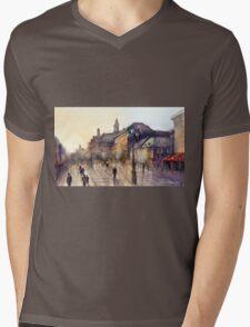 Square Jaques Cartier. Montreal. Quebec Mens V-Neck T-Shirt