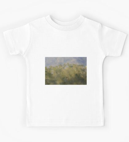 HDR Composite - Maple Reflection in Pond Kids Tee