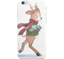 Abel the reindeer iPhone Case/Skin