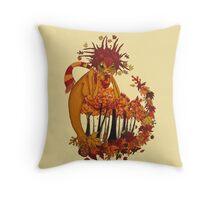 Autumn Spirit Throw Pillow