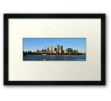 Skyline - Sydney,NSW Australia Framed Print