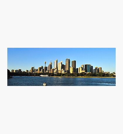 Skyline - Sydney,NSW Australia Photographic Print