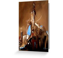 Reaching For Heaven Genesis 11 Greeting Card