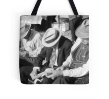 Three Old Men Tote Bag