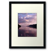 Evening on Loch Ness Framed Print