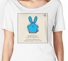 Euclid's Elements Book 4 Prop 11 GeoBunny Women's Relaxed Fit T-Shirt