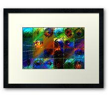 Mapping Planetary Motion Framed Print