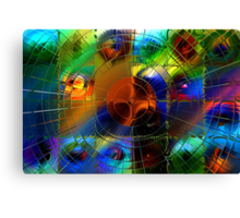 Mapping Planetary Motion Canvas Print