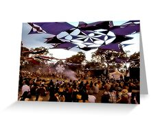RAINBOW SERPENT FESTIVAL '08 Greeting Card