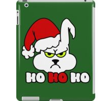 HoHoHo - Bunny, the grumpy X-Mas Temp VRS2 iPad Case/Skin