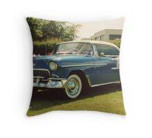 50s Car Throw Pillow