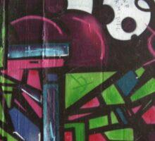 street art: cityscape Sticker