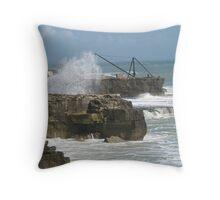 Portland Bill, England Throw Pillow