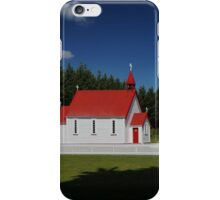 Waitetoko Church iPhone Case/Skin