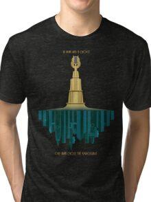 Bioshock Faux Movie Poster Tri-blend T-Shirt