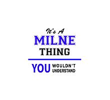 It's a MILNE thing, you wouldn't understand !! by thenamer