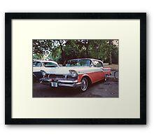 50s Car #2 Framed Print