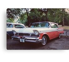 50s Car #2 Canvas Print