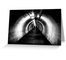 Going deeper under ground Greeting Card